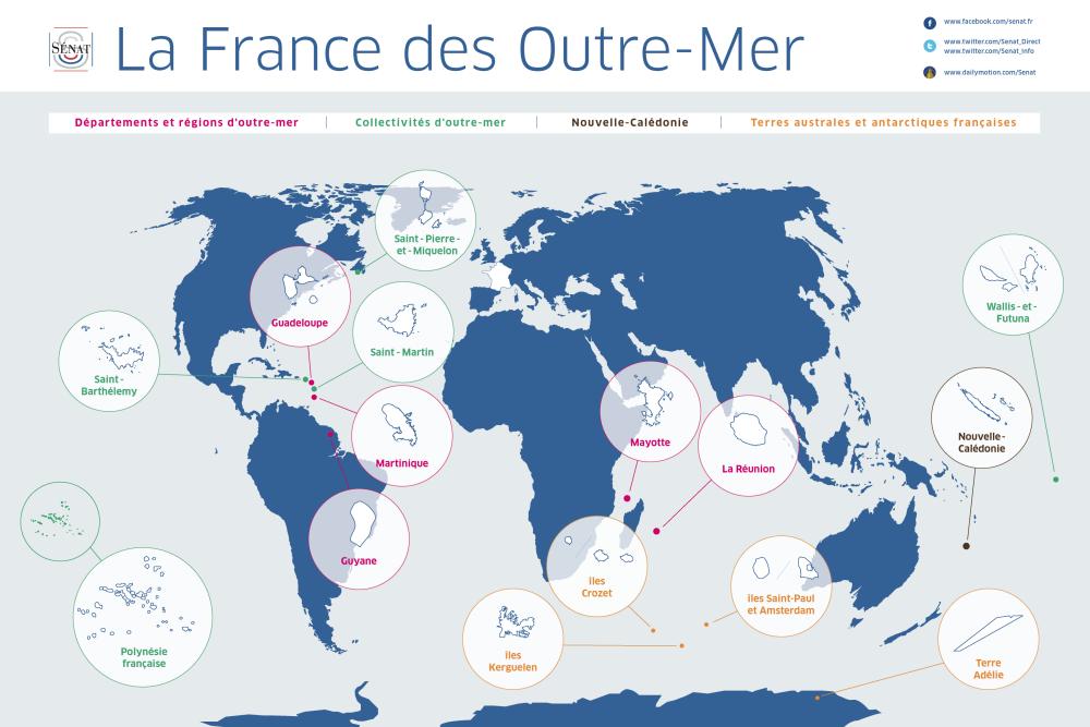 """Résultat de recherche d'images pour """"carte détaillée des outre-mer"""""""