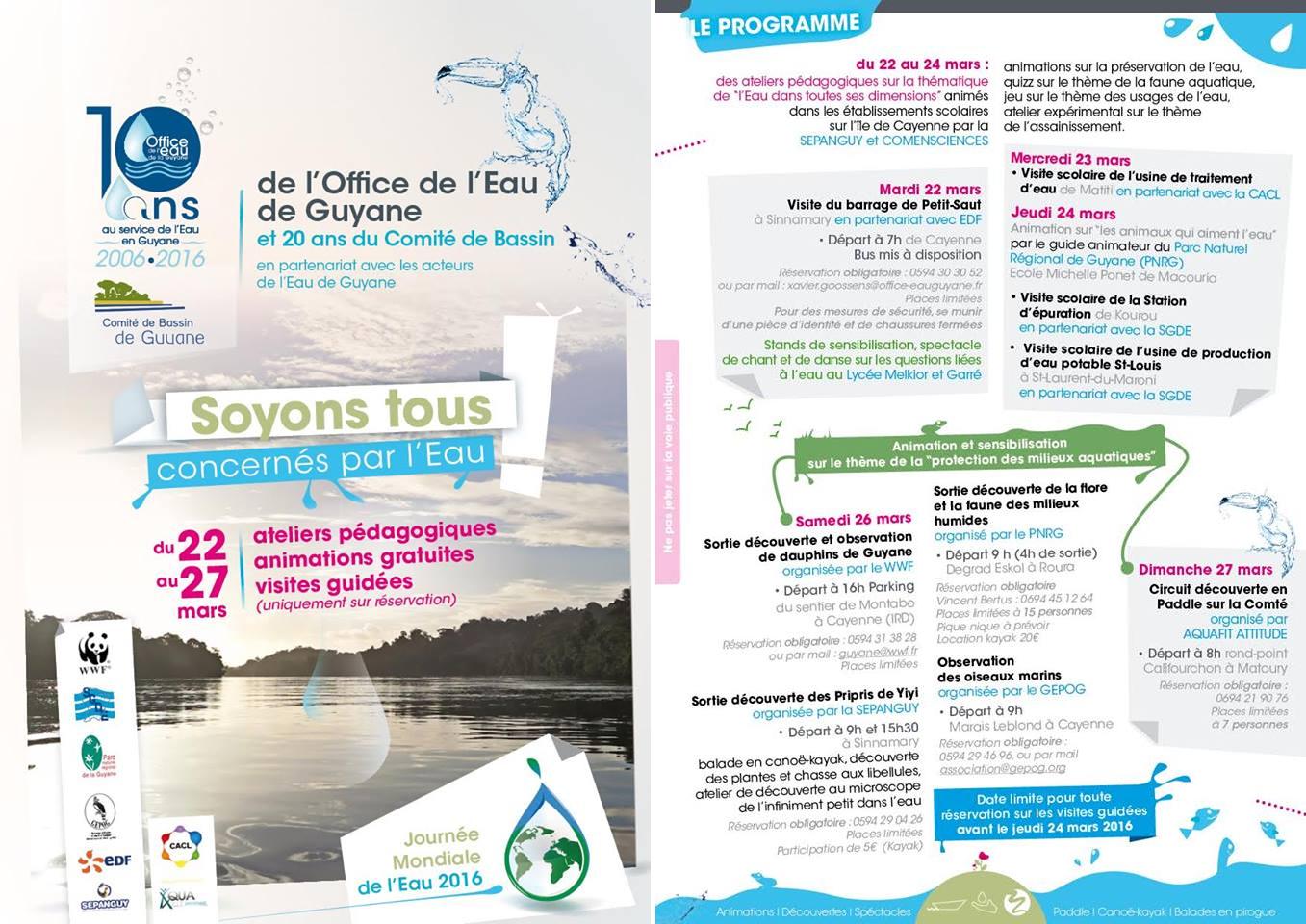 Journ e mondiale de l 39 eau 2016 p le relais zones humides tropicales - Office internationale de l eau ...